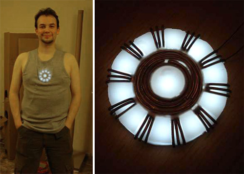 How to make an Iron Man Arc Reactor (Images courtesy Instructables)