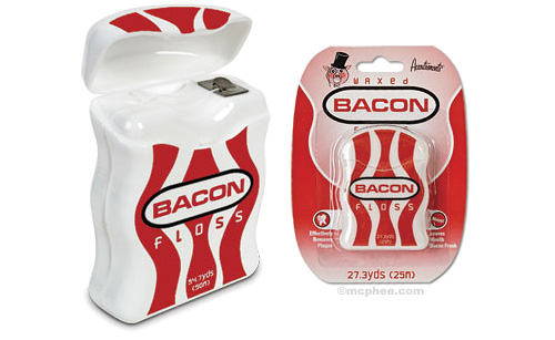 Bacon Floss (Image courtesy Archie McPhee)