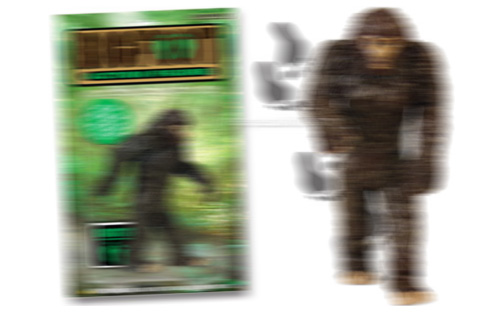 Bigfoot Action Figure (Image courtesy Perpetual Kid)