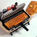 Corona-Matic Waffle Keyboard Maker