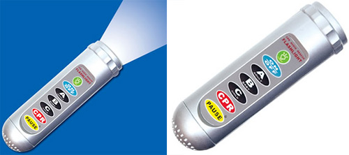 Talking CPR Flashlight (Images courtesy Full Of Life)
