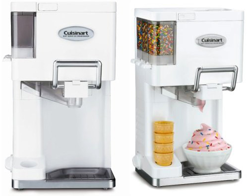 Cuisinart Ice-45 Mix-It-In Soft-Serve 1-1/2-Quart Ice-Cream Maker (Images courtesy Amazon)