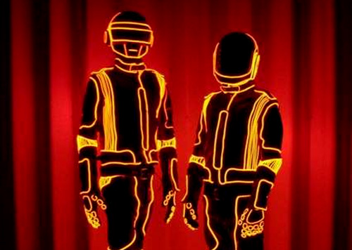 Daft Punk Alive Tour (Images courtesy enlighted VIA Instructables)