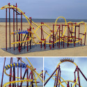 The Dragon – A 1:48 Scale Model Roller Coaster For Your Living Room