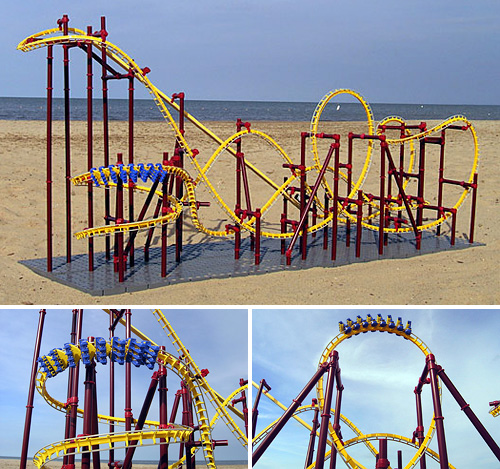 The Dragon (Images courtesy CoasterDynamix)