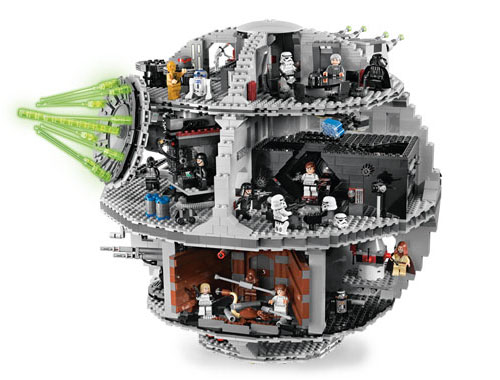 omg want lego death star ohgizmo. Black Bedroom Furniture Sets. Home Design Ideas