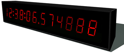 The Fastest Clock In The World (Image courtesy Freddie Yauner)