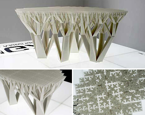 Fractal Table (Images courtesy MoCo Loco)