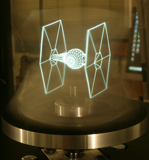 3D Holographic Display (Image courtest ICT Graphics Lab)