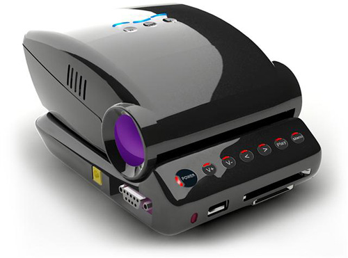 Honlai Technology MP100 Mini Projector (Image courtesy DigiTimes)