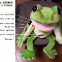Stuffed Frog Puppet + Theremin = Keromin