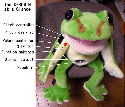 Keromin (Image courtesy Yuji Okuyama)