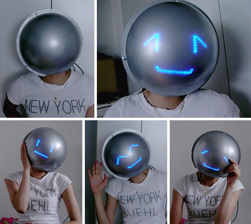 Mask of Emotion (Image courtesy Digital Media Design Dept at Hongik University)