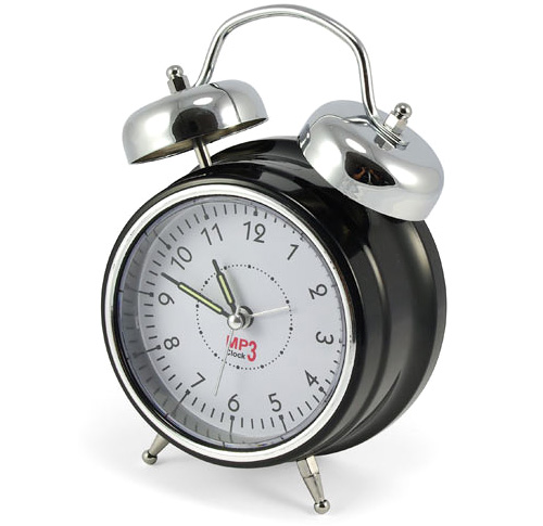 DIY MP3 Alarm Clock (Image courtesy ThinkGeek)