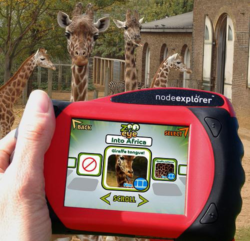 Node Explorer At The London Zoo (Image courtesy Shiny Shiny)