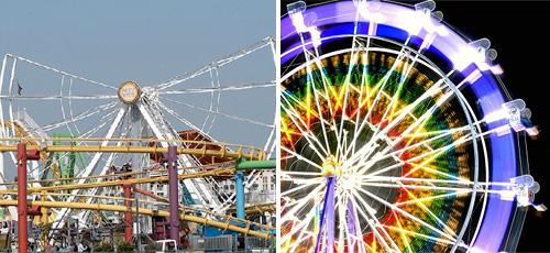 Pacific Ferris Wheel (Images courtesy Inhabitat)