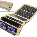 Solar Powered Battery Charger Gives Free Power Forever