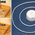 Compact Retractable Extension Cord