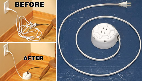 Retractable Extension Cord (Images courtesy Full Of Life)