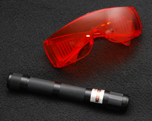 Laser and Goggles