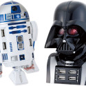 R2D2 And Vader USB Hubs