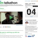 Update On I'm Talkathon: Going Strong, Kind Of Interesting