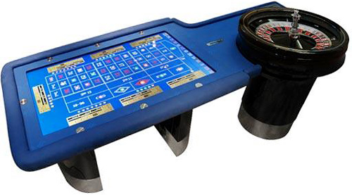 TouchTable MultiPlay Roulette (Image courtesy TouchTable)