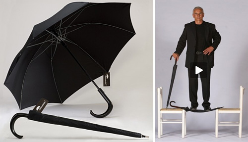 Unbreakable Umbrella (Images courtesy Real Self-Defese LLC)