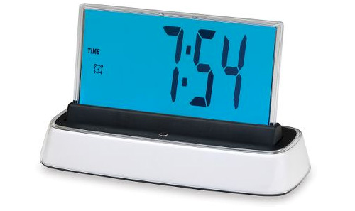 Voice Interactive Alarm Clock (Image courtesy Hammacher Schlemmer)