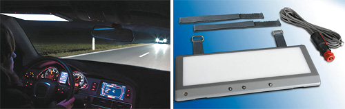 Anti-Glare LED Panel (Images courtesy Pro-Idee)