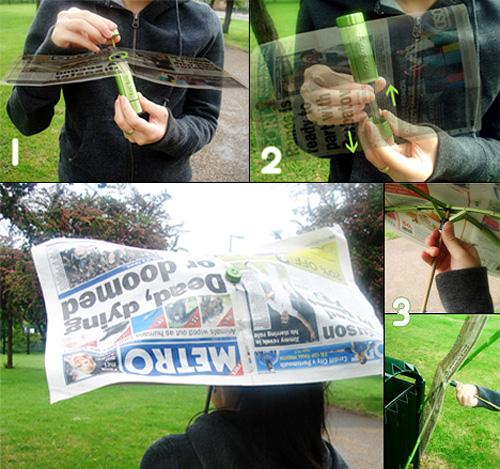 Eco Brolly (Images courtesy Shiu Yuk Yuen)