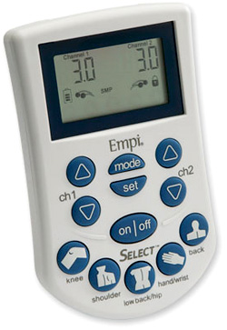Select TENS Pain Management System (Image courtesy Empi)