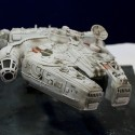 Millennium Falcon With Real Spice In It