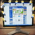 Homer Simpson USB Monitor Lights Are Just Plain Tacky