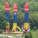 Inflatable Bungee Ride – Fun First, Safety Second