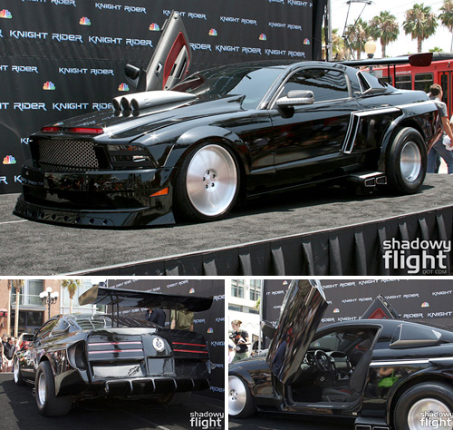 Knight Rider KITT Attack Mode (Images courtesy Shadowy Flight)