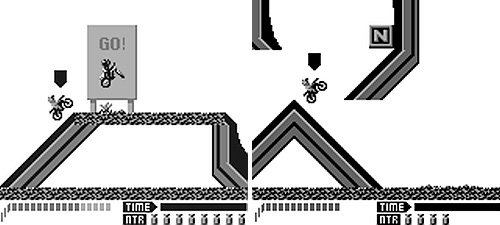 Motocross Maniacs (Images courtesy Wikipedia & Chronic Games)