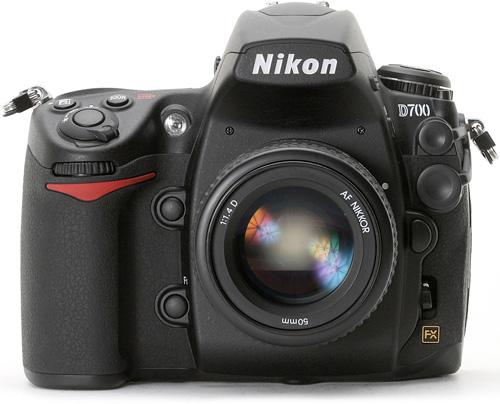 Nikon D700 (Image courtesy Nikon)