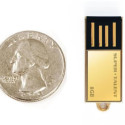 Pico-C Gold Plated USB Flash Drive