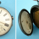 English Patent Curiosa Railroad Pocket Watch Gun