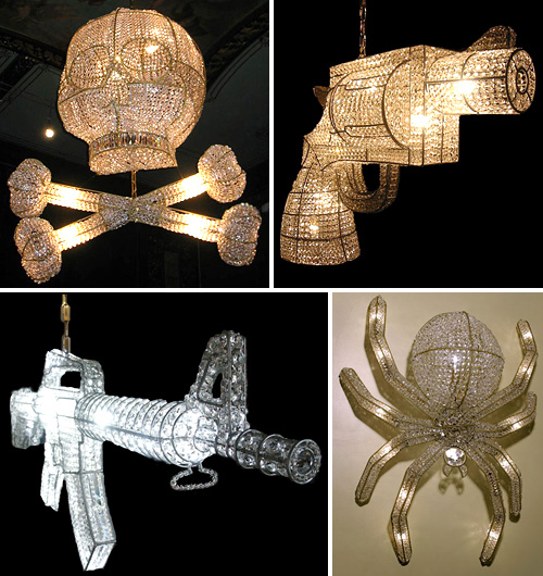 Rock And Royal Chandeliers (Images courtesy Rock and Royal)