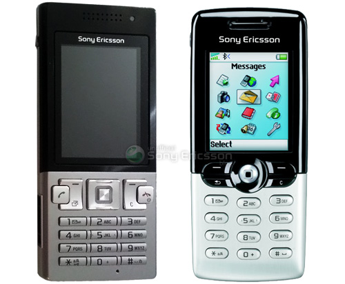 Sony Ericsson Phones (Image courtesy the Unofficial Sony Ericsson Blog)