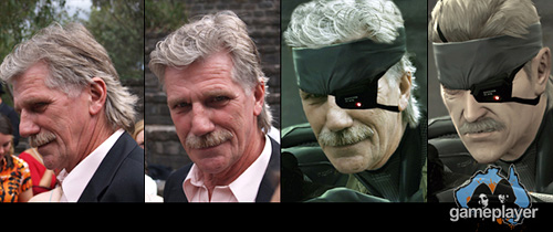 Real Life Solid Snake (Image courtesy Gameplayer)