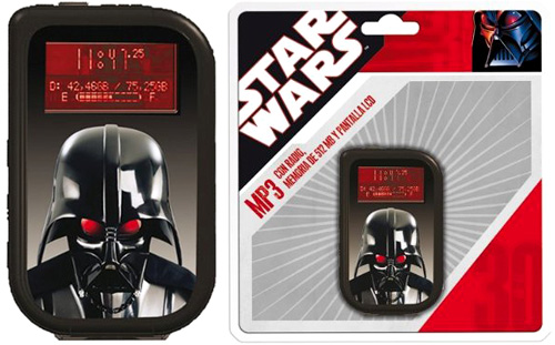 Star Wars MP3 Player (Images courtesy Amazon.co.uk)