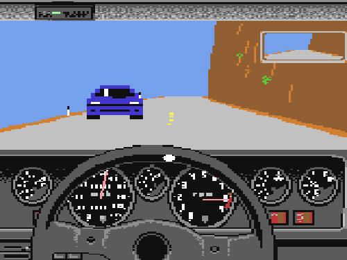 Test Drive for Commodore 64 (Image courtesy Lemon64.com)