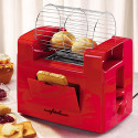 A Toaster With A Rotating Basket