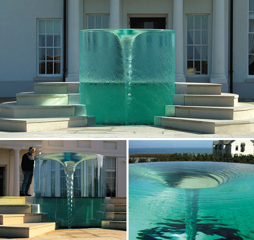 Charybdis Fountain (Images courtesy William Pye)
