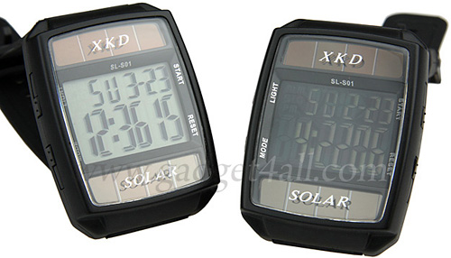 XKD Solar Powered Watch (Image courtesy Gadget4all.com)