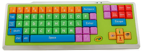 Crayola USB EZ Type Keyboard (Image courtesy Crayola)