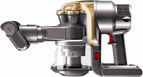 dyson dc16 handheld vacuum for pet lovers ohgizmo. Black Bedroom Furniture Sets. Home Design Ideas